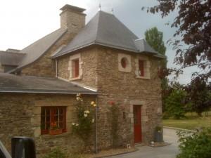 Rénovation maison en pierre à Coueron Loire-Atlantique 44