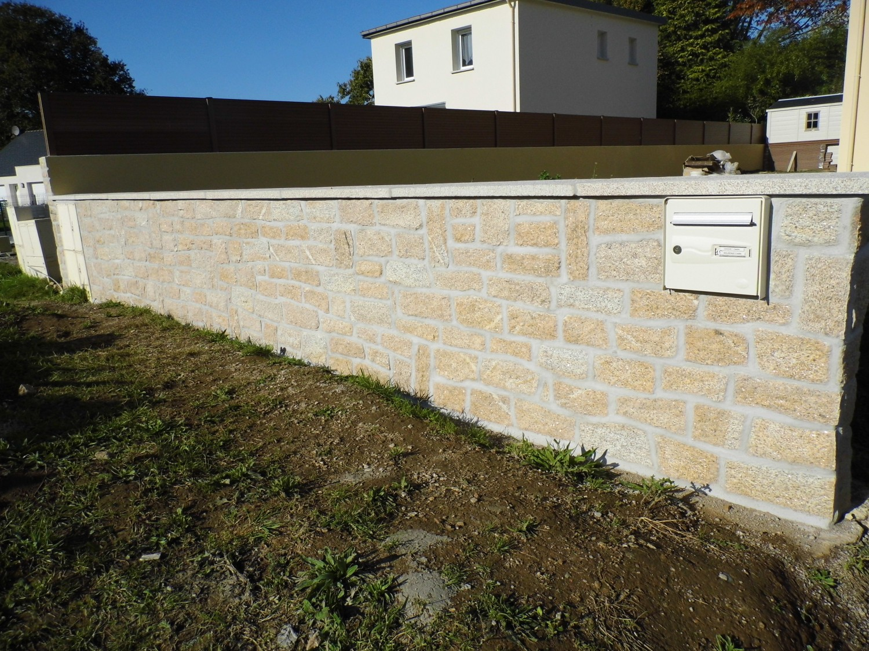 veranda avec muret en pierre xw31 jornalagora With exceptional maison bois et pierre 15 cloture en parpaing