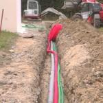 Canalisations Maison Neuve en Parpaings - Penestin - Morbihan 56