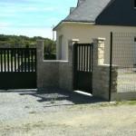 Muret en pierre de plaquage Pénestin - Morbihan - 56